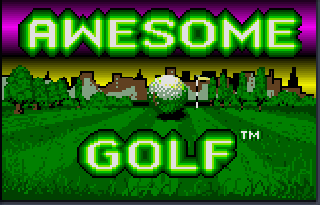 Screenshot Thumbnail / Media File 1 for Awesome Golf (USA, Europe)