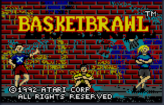 Screenshot Thumbnail / Media File 1 for Basketbrawl (USA, Europe)