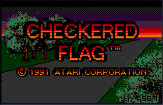 Screenshot Thumbnail / Media File 1 for Checkered Flag (USA, Europe)