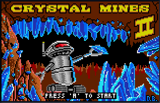 Screenshot Thumbnail / Media File 1 for Crystal Mines II (USA, Europe)