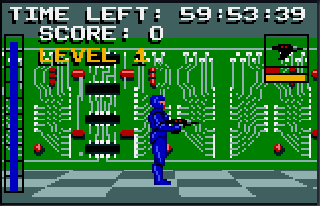 Screenshot Thumbnail / Media File 1 for Electrocop (USA, Europe)
