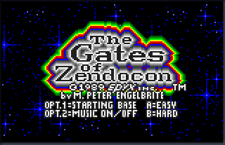 Screenshot Thumbnail / Media File 1 for Gates of Zendocon, The (USA, Europe)