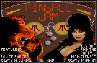 Screenshot Thumbnail / Media File 1 for Pinball Jam (USA, Europe)