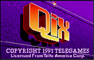 Screenshot Thumbnail / Media File 1 for Qix (USA, Europe)
