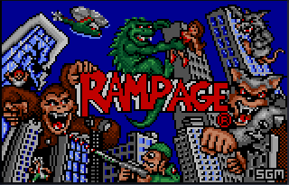 Screenshot Thumbnail / Media File 1 for Rampage (USA, Europe)