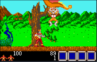 Screenshot Thumbnail / Media File 1 for Rygar - Legendary Warrior (USA, Europe)