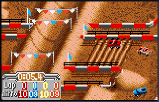 Screenshot Thumbnail / Media File 1 for Super Off-Road (USA, Europe)