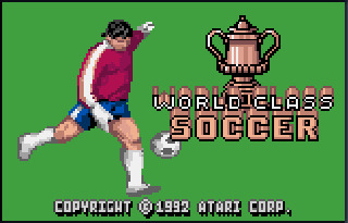 Screenshot Thumbnail / Media File 1 for World Class Soccer (USA, Europe)