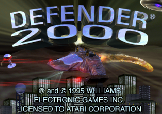 Screenshot Thumbnail / Media File 1 for Defender 2000 (World)