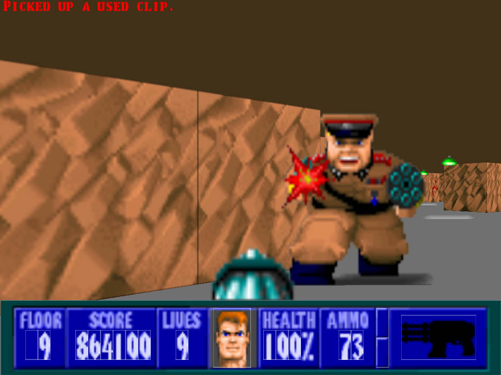 Wolfenstein 3d world rom for Wolfenstein 3d