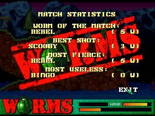 Screenshot Thumbnail / Media File 1 for Worms (World)