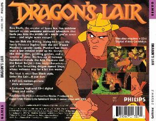 Screenshot Thumbnail / Media File 1 for Dragon's Lair (CD-i)