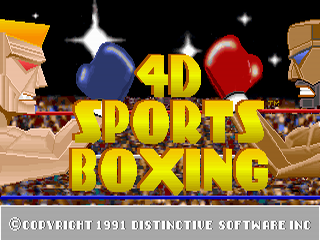 Screenshot Thumbnail / Media File 1 for 4d Boxing (1991)(Mindscape Inc)(Rev2)