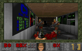 Screenshot Thumbnail / Media File 1 for Doom (1993)(Id Software)