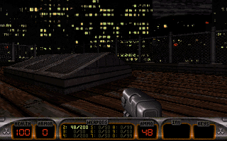 Screenshot Thumbnail / Media File 1 for Duke Nukem 3d Atomic Edition 1.4 (1996)(Atari Inc)