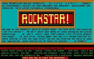 Screenshot Thumbnail / Media File 1 for Rockstar (1989)(Wizard Games)