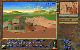 Screenshot Thumbnail / Media File 1 for Stronghold (1993)(Strategic Simulations Inc)