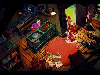Screenshot Thumbnail / Media File 1 for Discworld 2 (CD DOS)