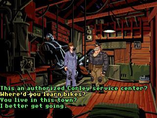 Screenshot Thumbnail / Media File 1 for Full Throttle (CD DOS)