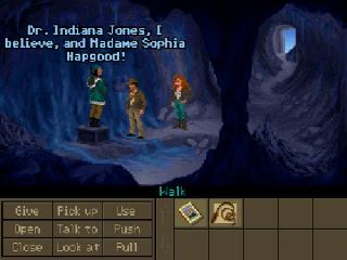 Screenshot Thumbnail / Media File 1 for Indiana Jones and the Fate of Atlantis (CD DOS VGA)
