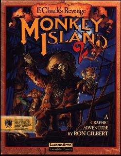 Screenshot Thumbnail / Media File 1 for Monkey Island 2 LeChuck's Revenge (Floppy DOS VGA)