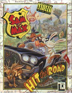 Screenshot Thumbnail / Media File 1 for Sam and Max Hit the Road (CD DOS)