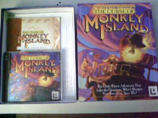 Screenshot Thumbnail / Media File 1 for The Curse Of Monkey Island (CD Windows)