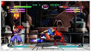 Screenshot Thumbnail / Media File 1 for Marvel vs. Capcom 2 (JPN, USA, EUR, ASI, AUS) (Rev A)