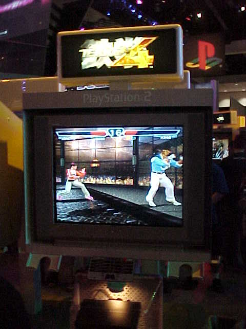 tekken 4 arcade machine